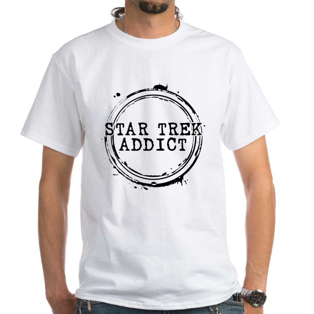 Star Trek Addict White T-Shirt