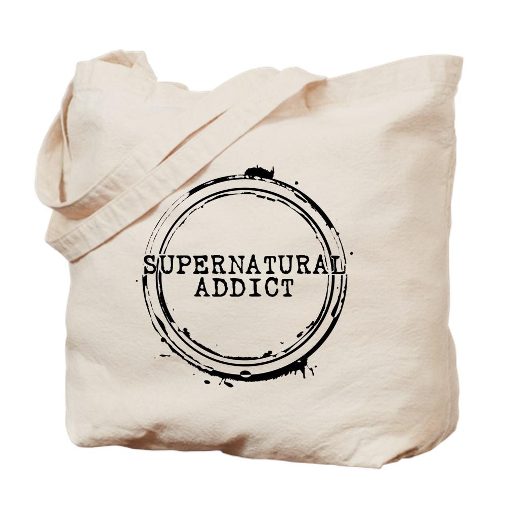 Supernatural Addict Tote Bag
