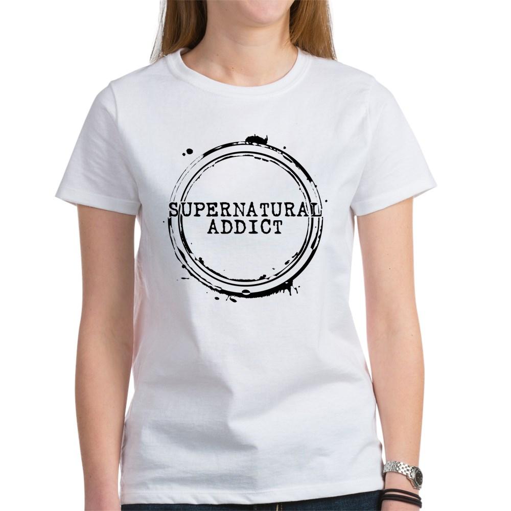 Supernatural Addict Women's T-Shirt