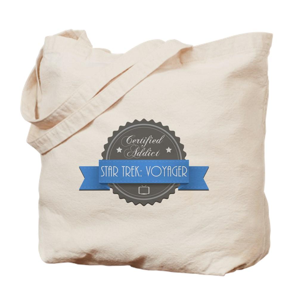 Certified Star Trek: Voyager Addict Tote Bag