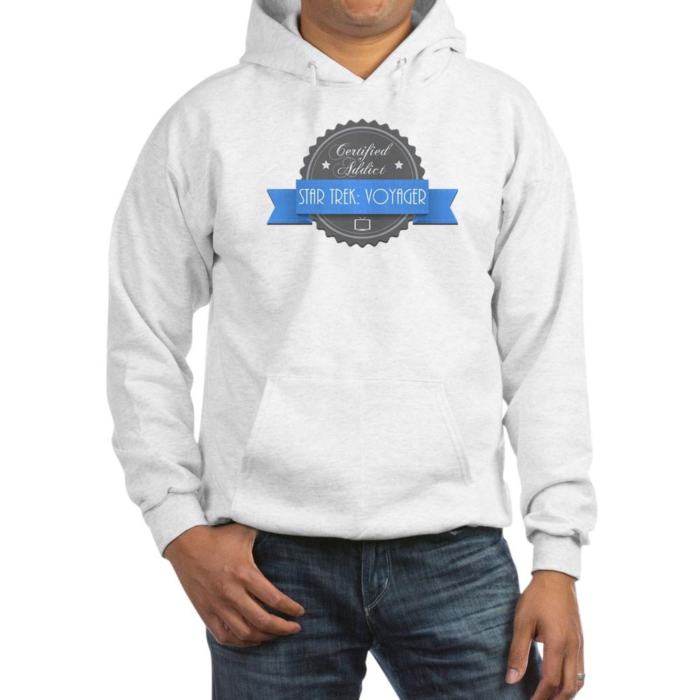 Certified Star Trek: Voyager Addict Hooded Sweatshirt