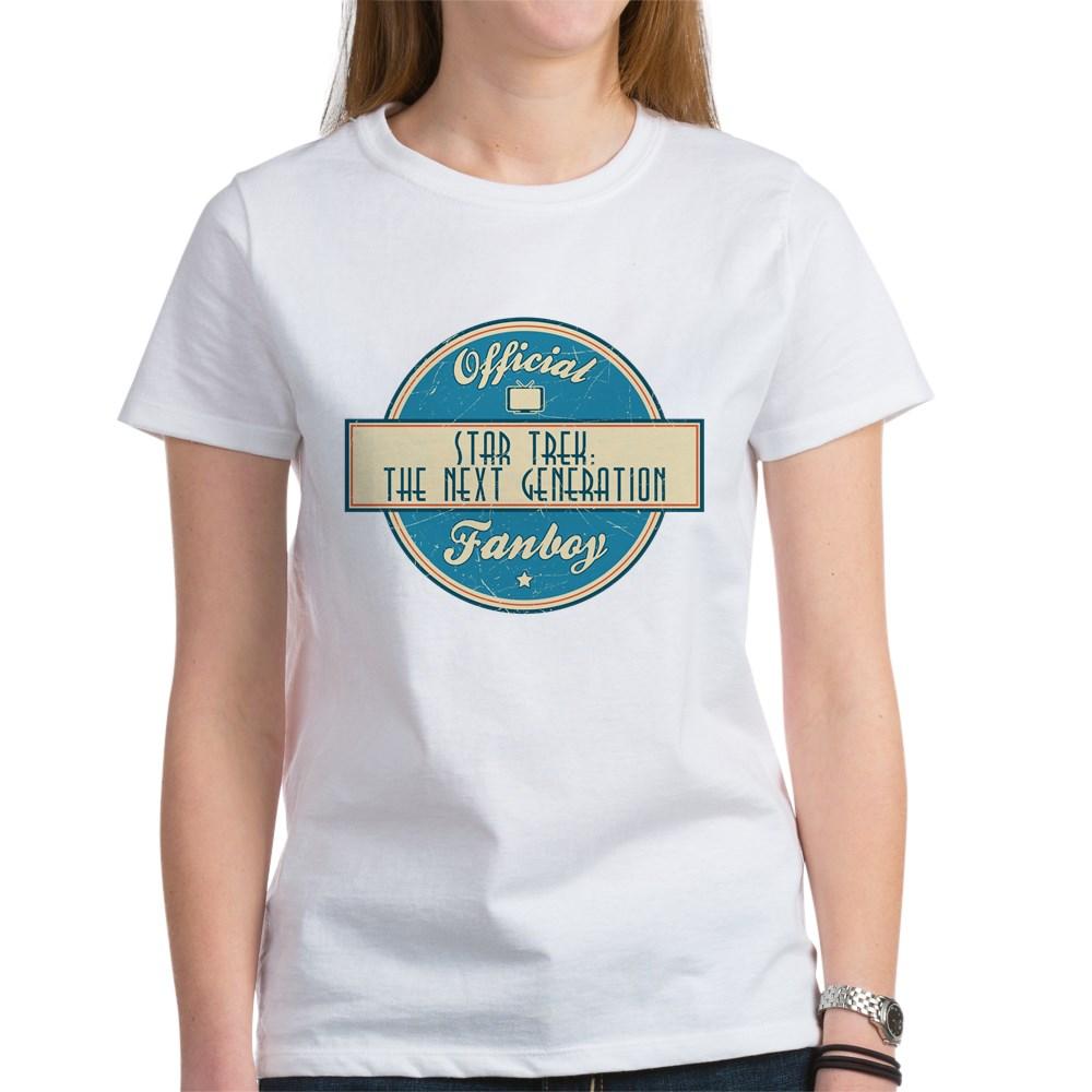 Offical Star Trek: The Next Generation Fanboy Women's T-Shirt