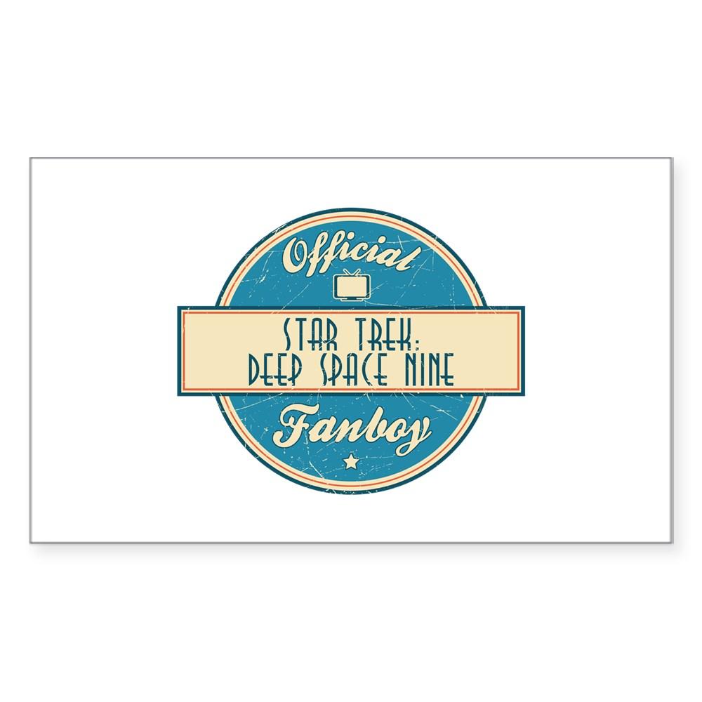 Offical Star Trek: Deep Space Nine Fanboy Rectangle Sticker