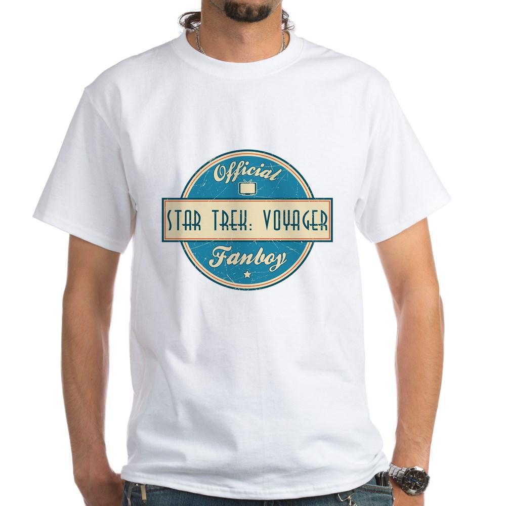 Offical Star Trek: Voyager Fanboy White T-Shirt