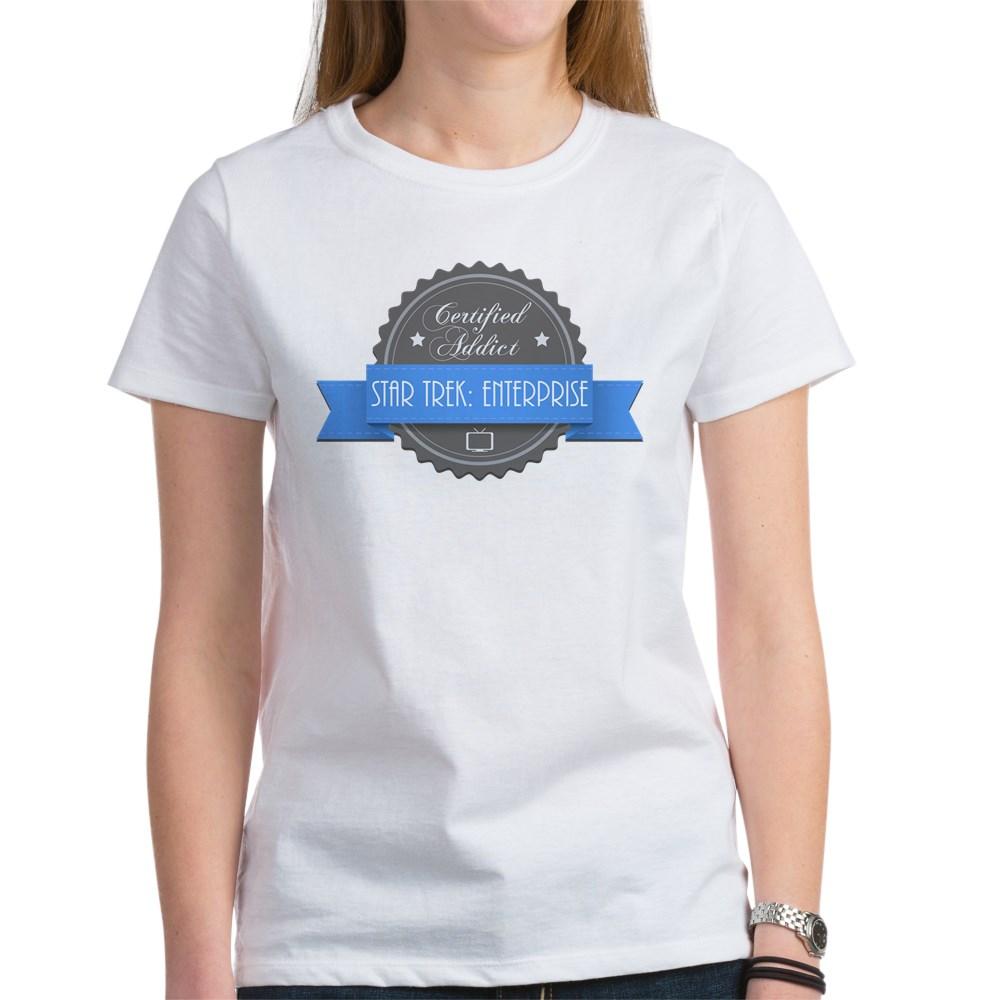 Certified Star Trek: Enterprise Addict Women's T-Shirt