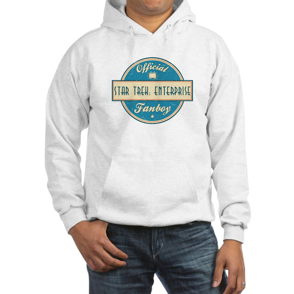 Offical Star Trek: Enterprise Fanboy Hooded Sweatshirt