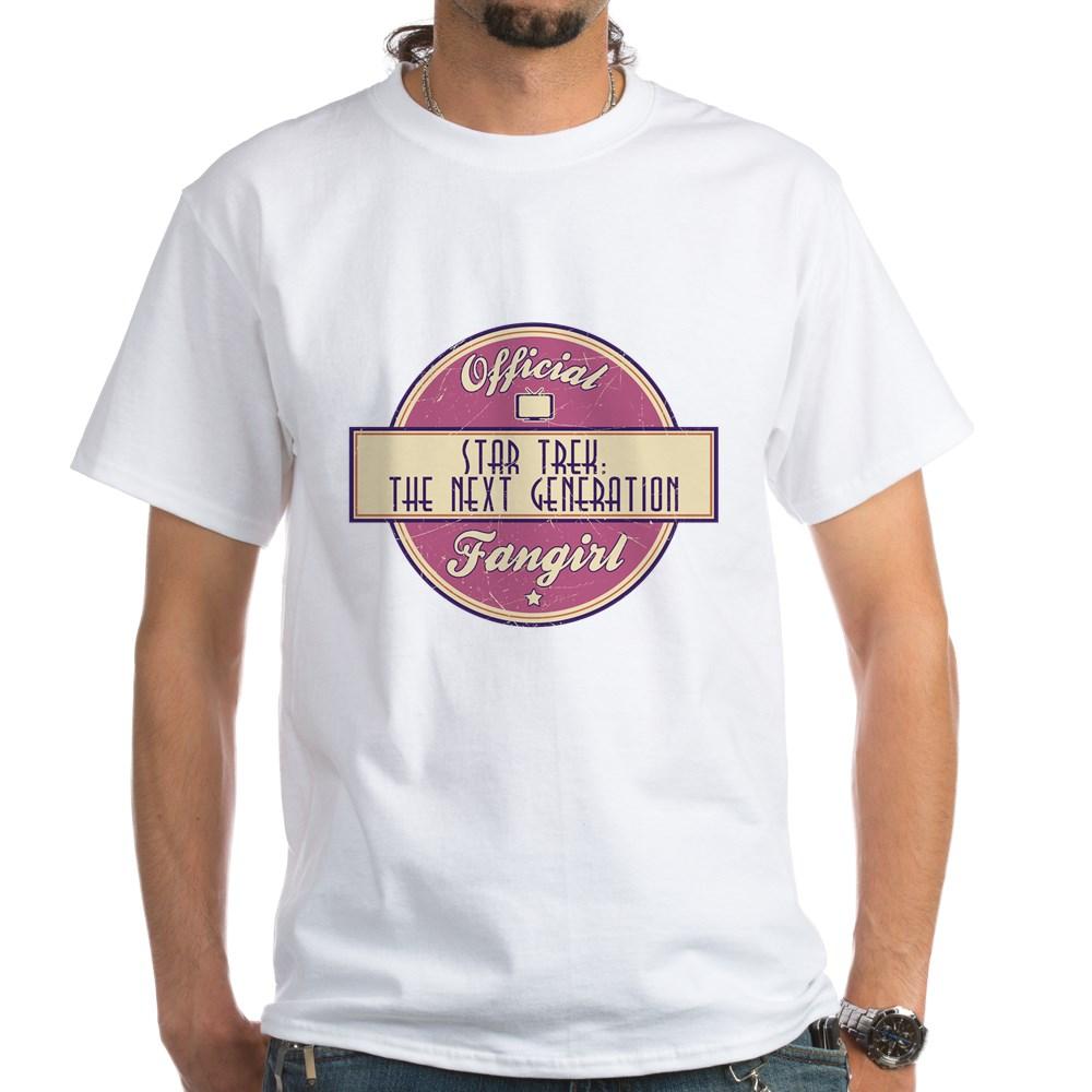Offical Star Trek: The Next Generation Fangirl White T-Shirt