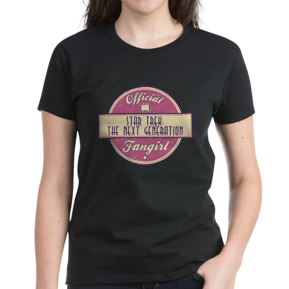 Offical Star Trek: The Next Generation Fangirl Women's Dark T-Shirt