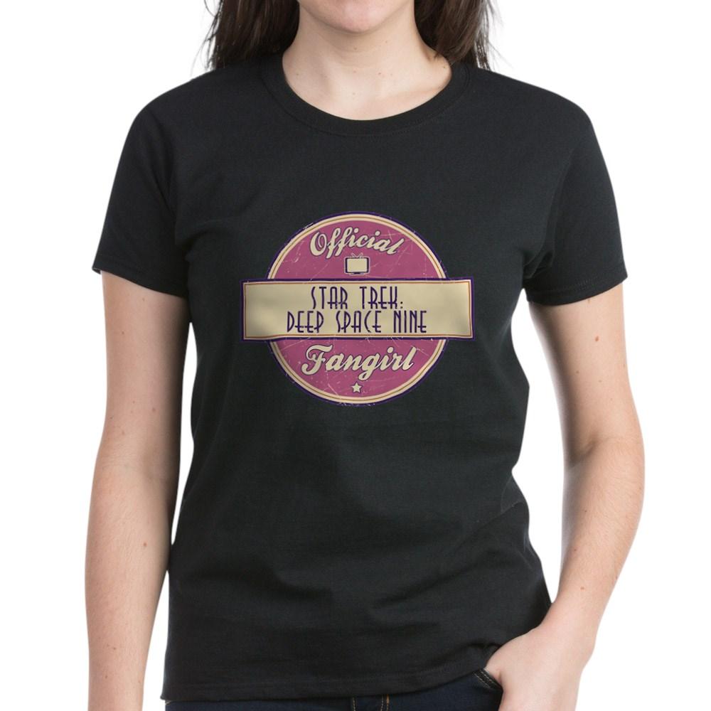 Offical Star Trek: Deep Space Nine Fangirl Women's Dark T-Shirt