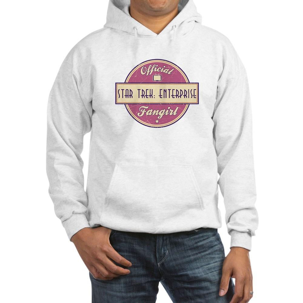 Offical Star Trek: Enterprise Fangirl Hooded Sweatshirt