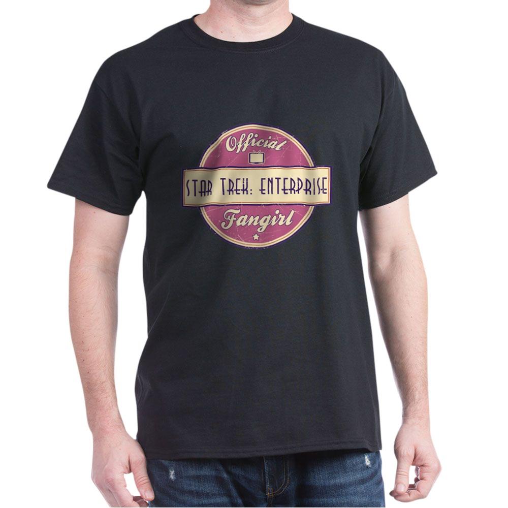 Offical Star Trek: Enterprise Fangirl Dark T-Shirt