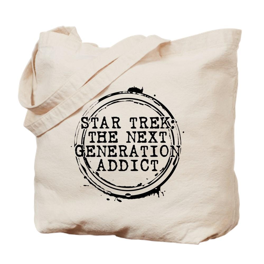 Star Trek: The Next Generation Addict Stamp Tote Bag