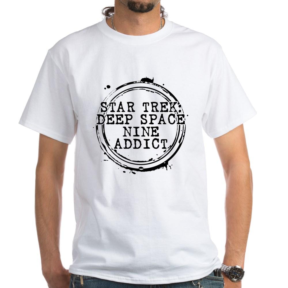 Star Trek: Deep Space Nine Addict Stamp White T-Shirt