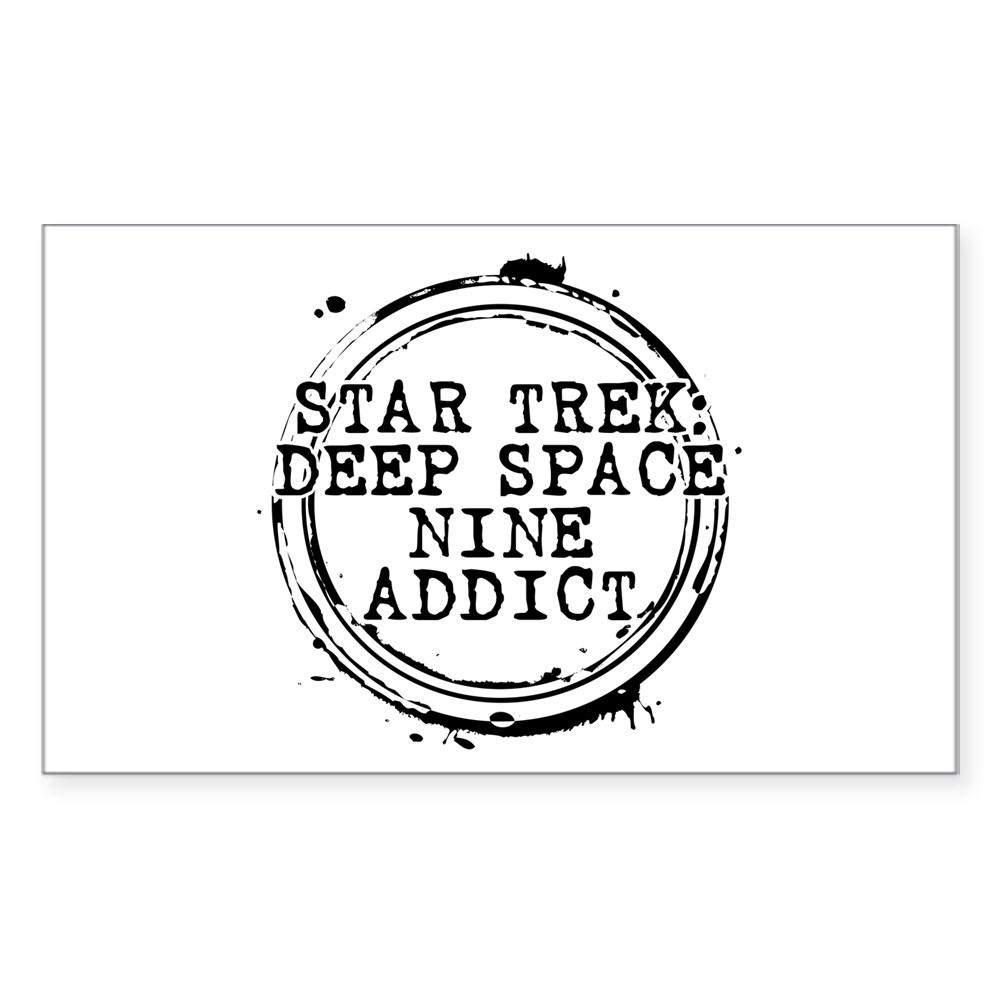Star Trek: Deep Space Nine Addict Stamp Rectangle Sticker