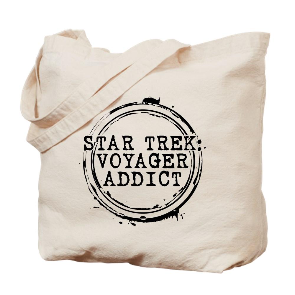 Star Trek: Voyager Addict Stamp Tote Bag