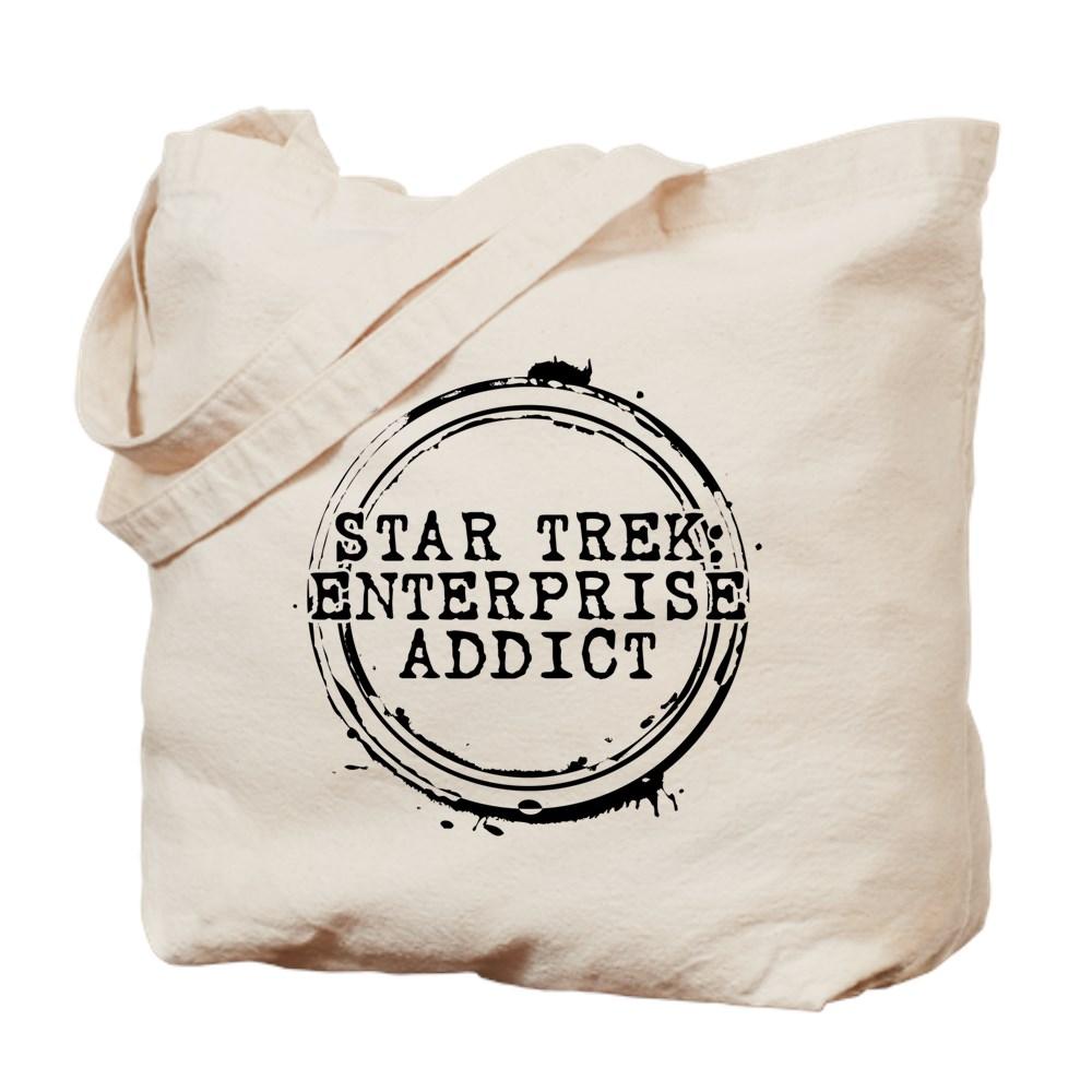 Star Trek: Enterprise Addict Stamp Tote Bag
