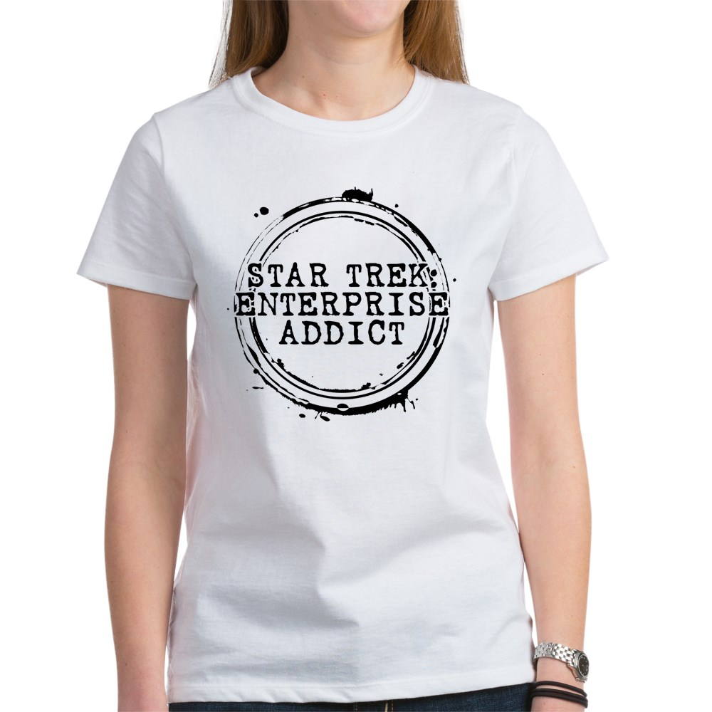 Star Trek: Enterprise Addict Stamp Women's T-Shirt