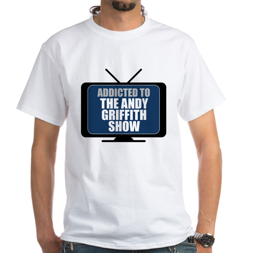Addicted to the Andy Griffith Show White T-Shirt