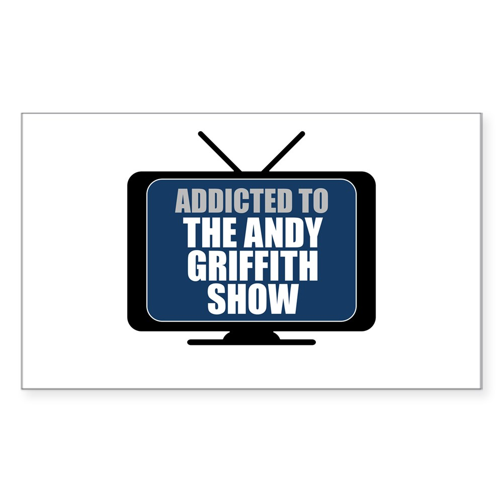 Addicted to the Andy Griffith Show Rectangle Sticker