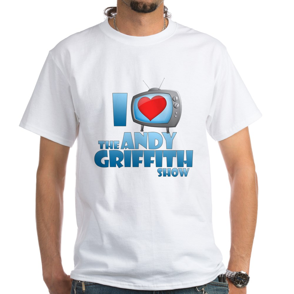 I Heart the Andy Griffith Show White T-Shirt