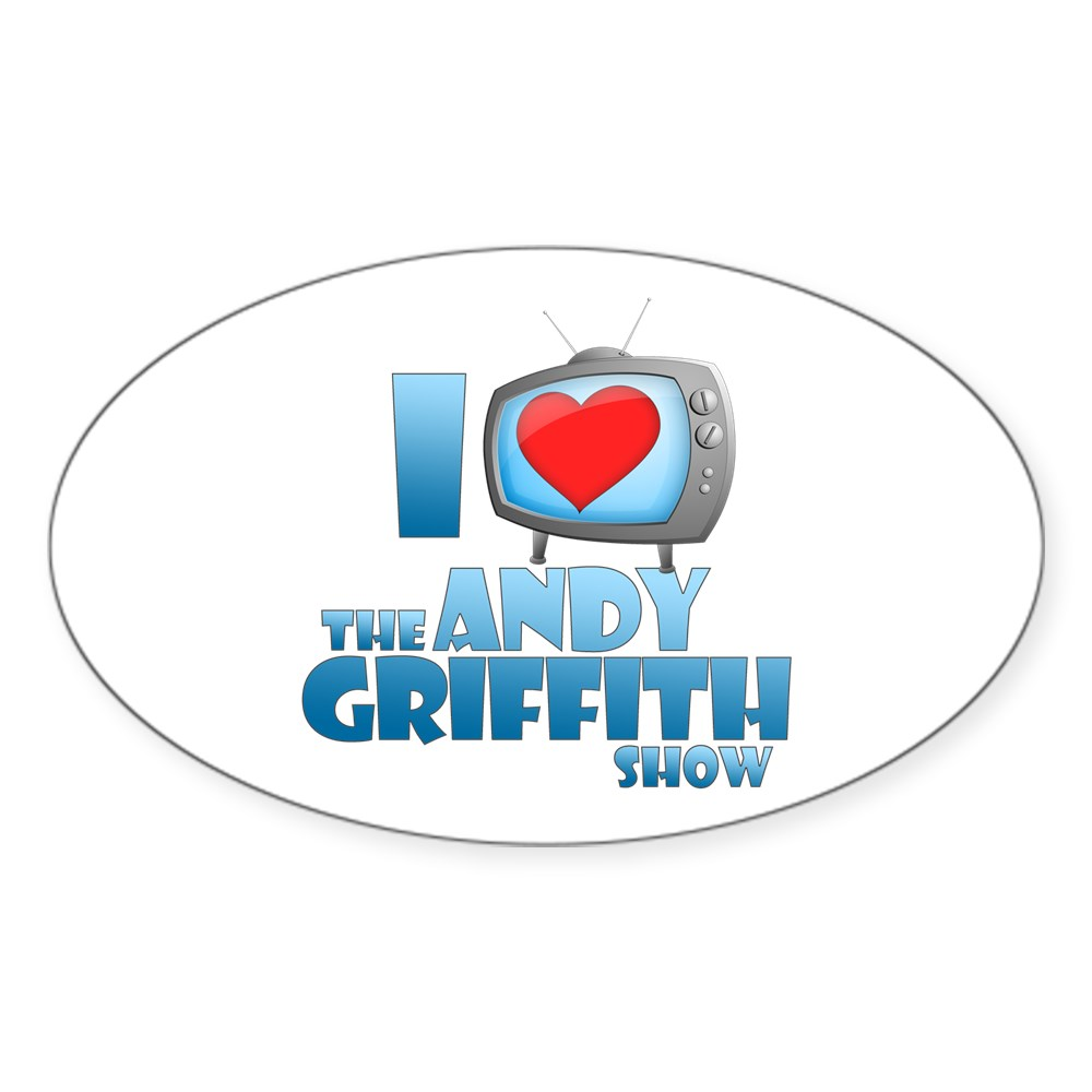 I Heart the Andy Griffith Show Oval Sticker