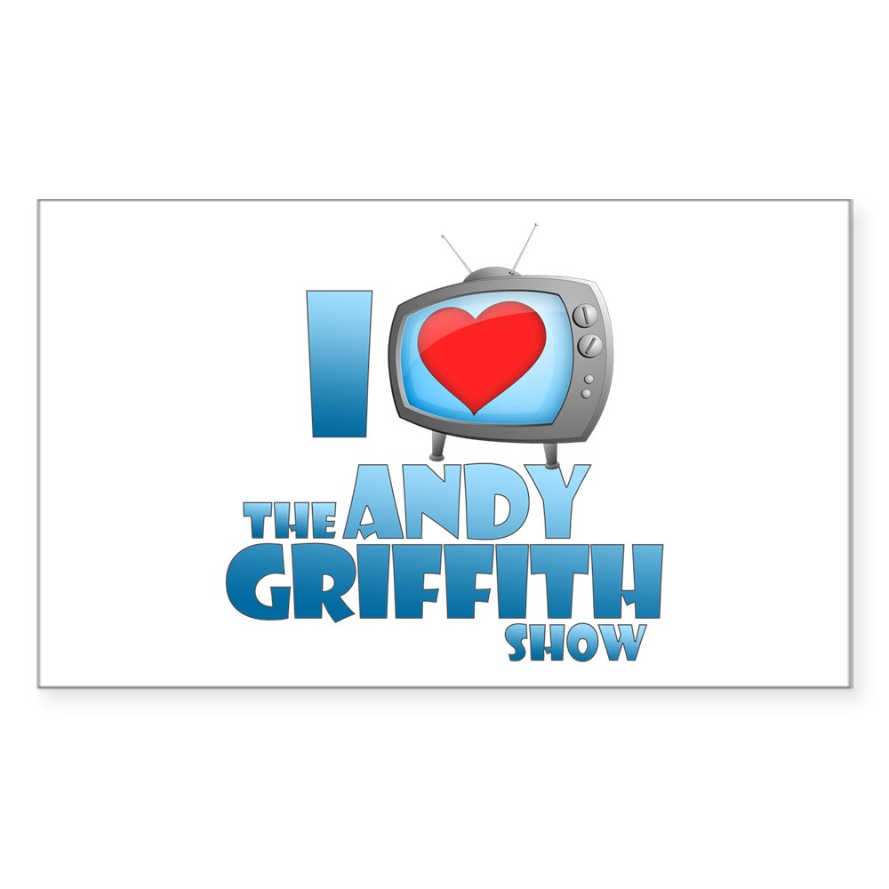 I Heart the Andy Griffith Show Rectangle Sticker