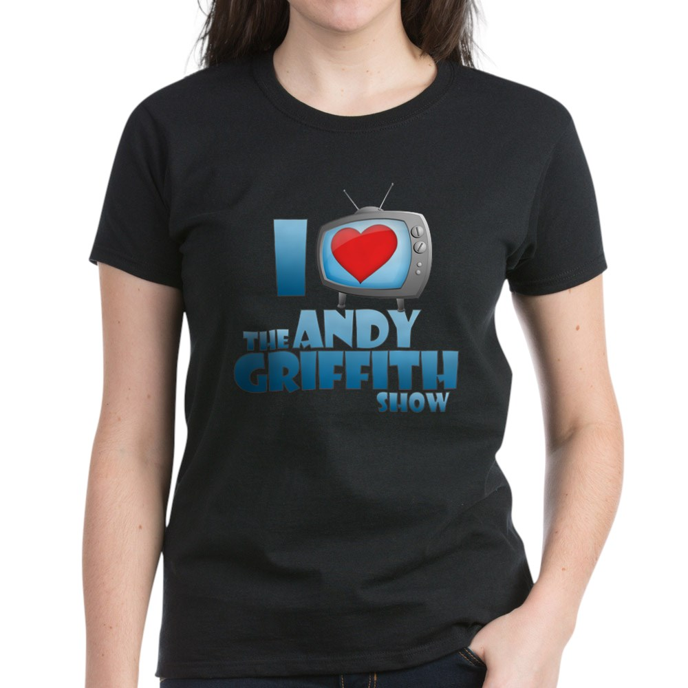 I Heart the Andy Griffith Show Women's Dark T-Shirt