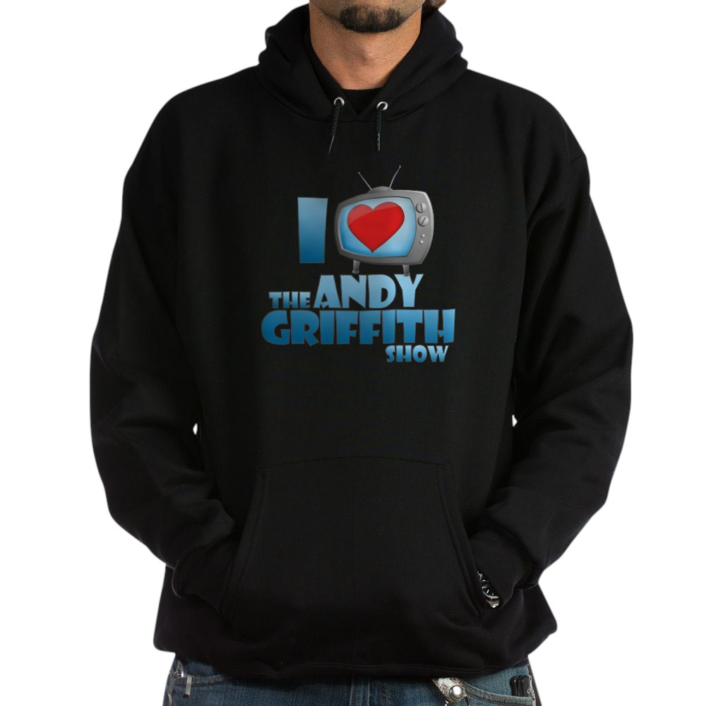 I Heart the Andy Griffith Show Dark Hoodie