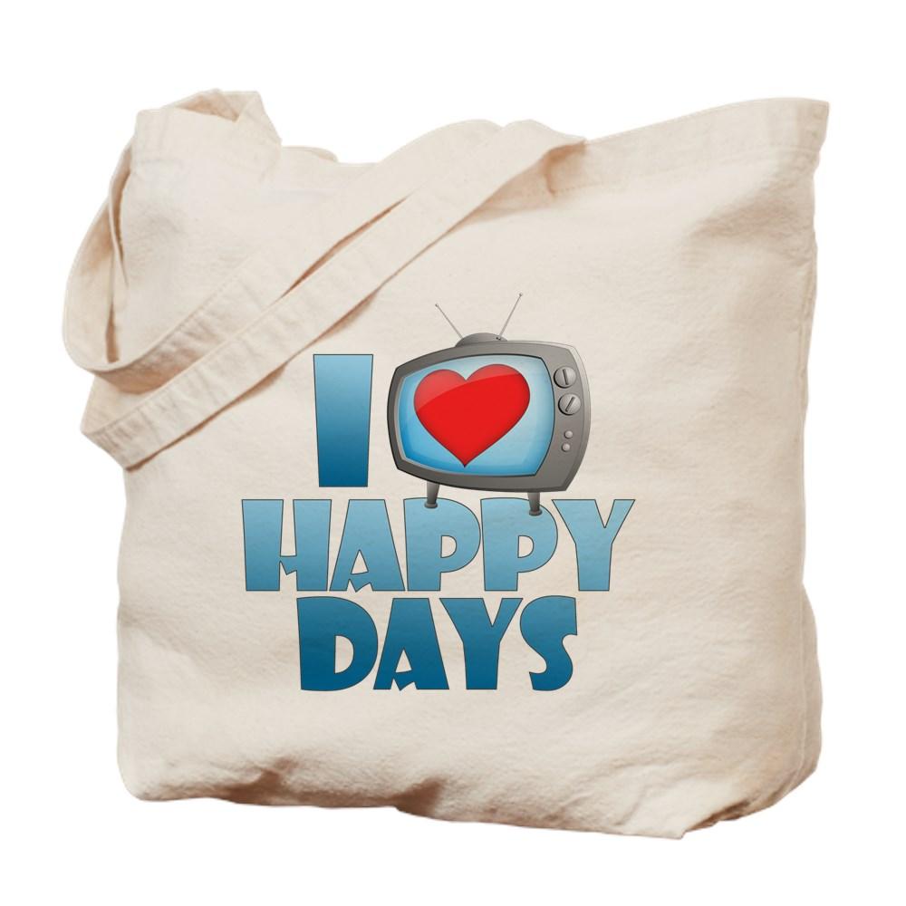 I Heart Happy Days Tote Bag