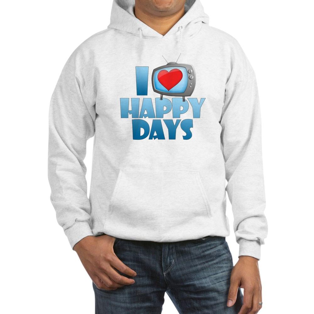I Heart Happy Days Hooded Sweatshirt