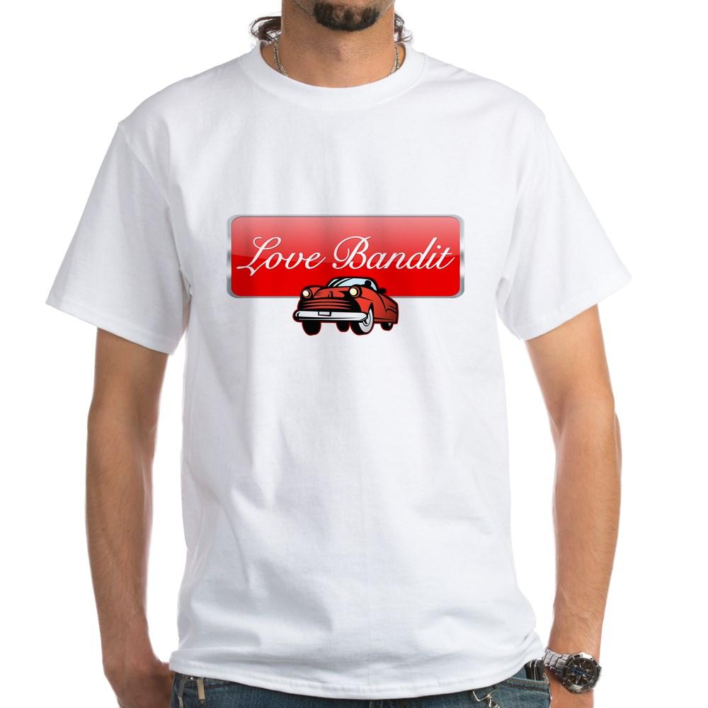 Love Bandit White T-Shirt