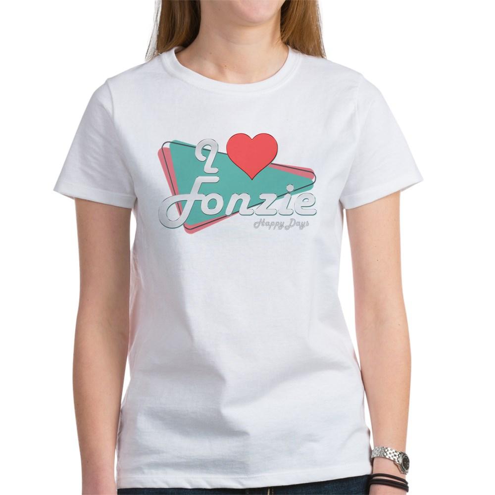 I Heart Fonzie Women's T-Shirt