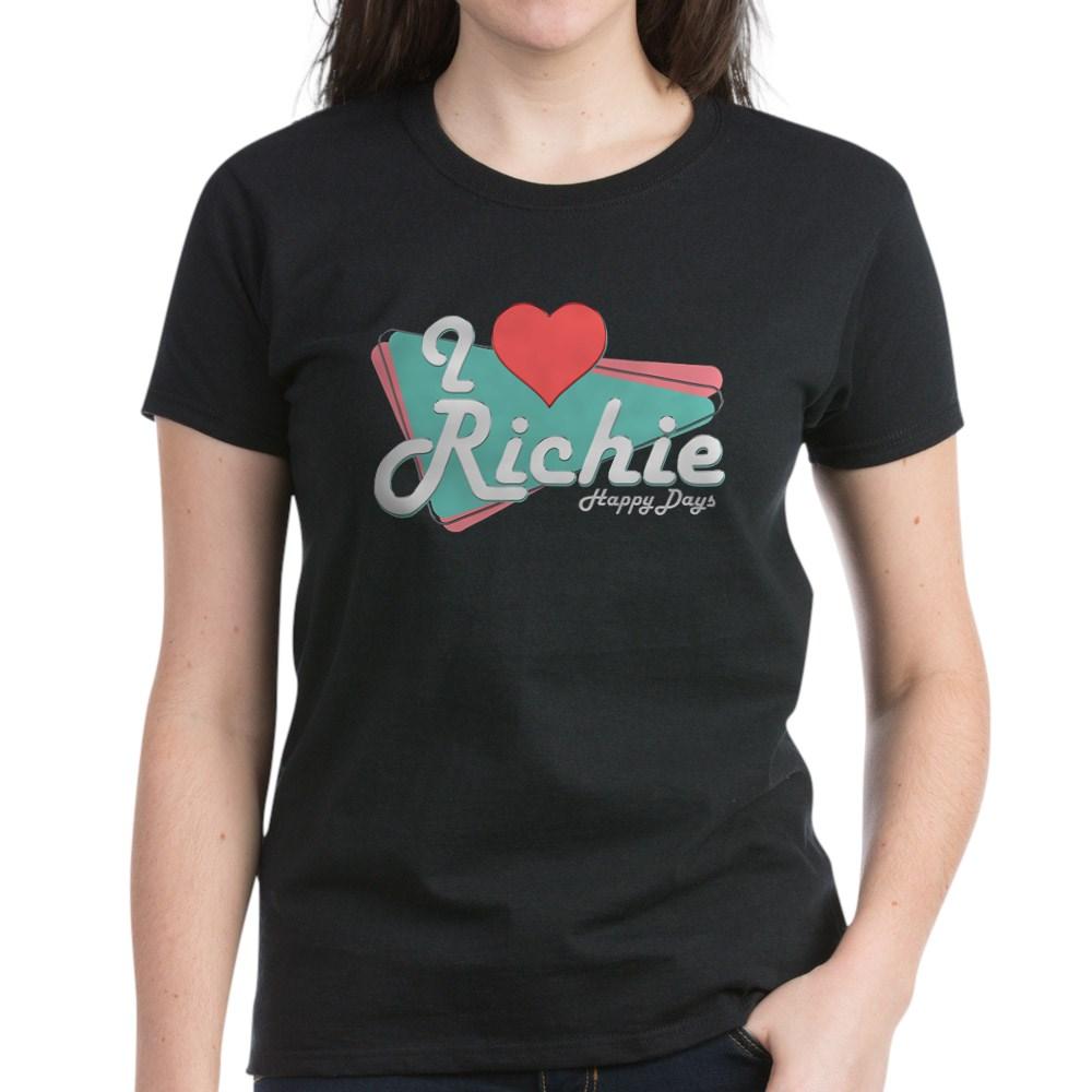 I Heart Richie Women's Dark T-Shirt