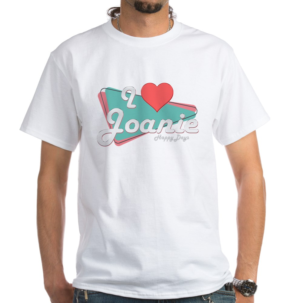 I Heart Joanie White T-Shirt