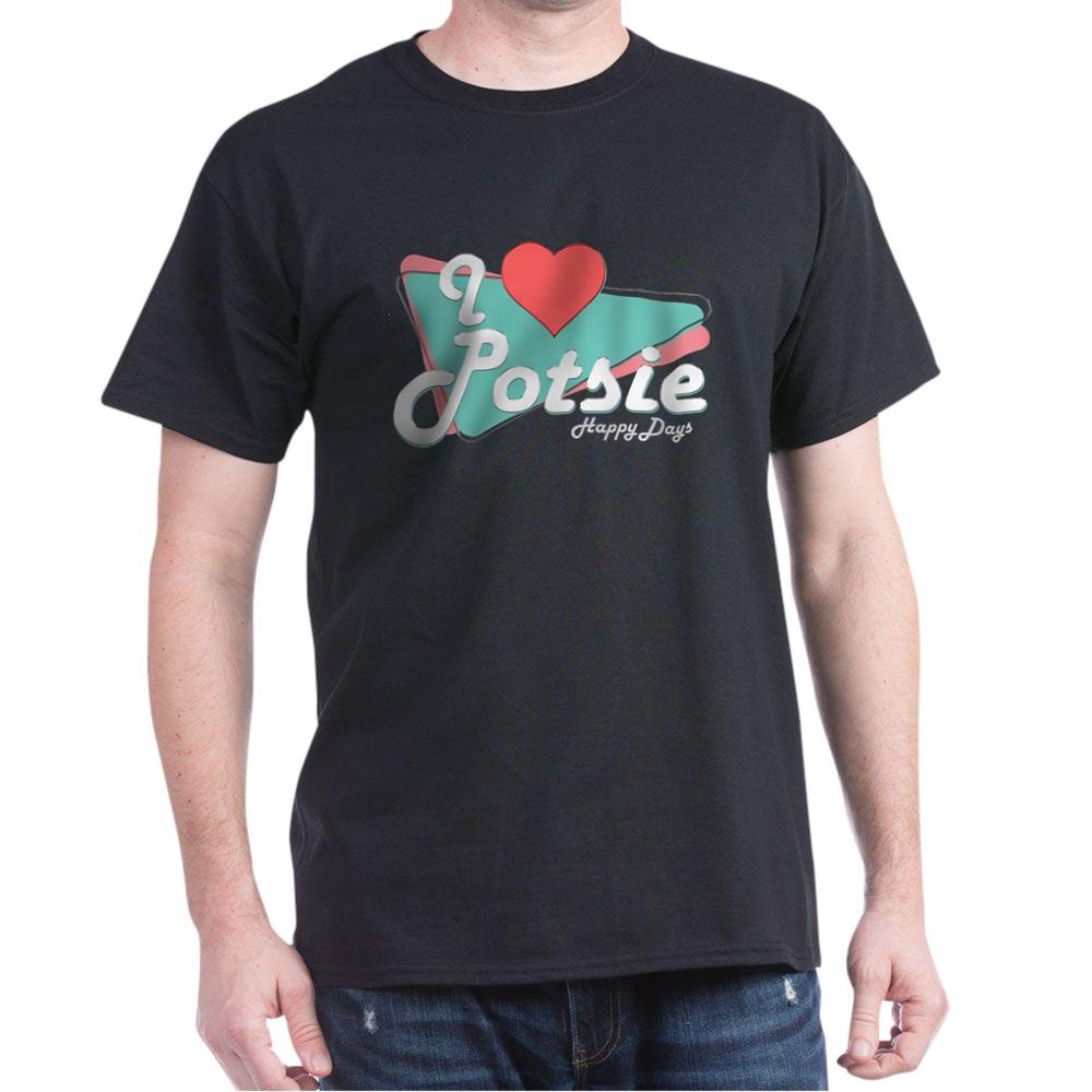 I Heart Potsie Dark T-Shirt