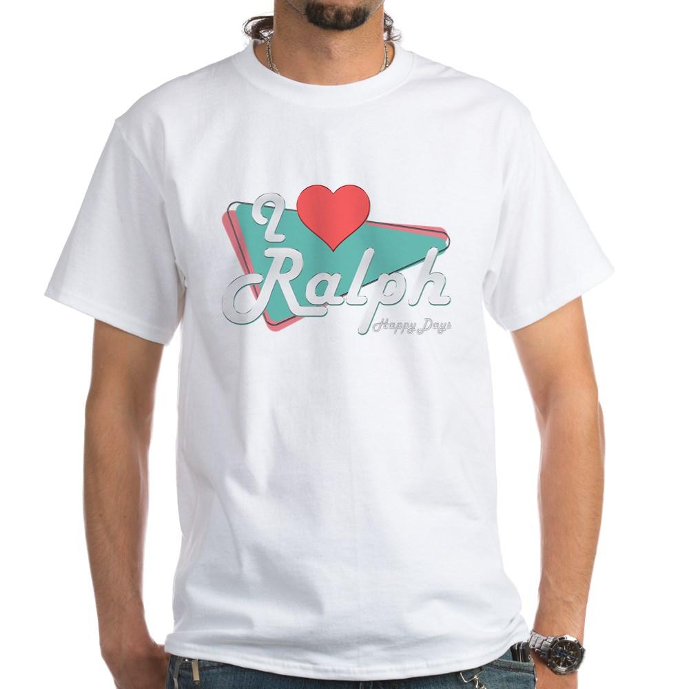 I Heart Ralph White T-Shirt
