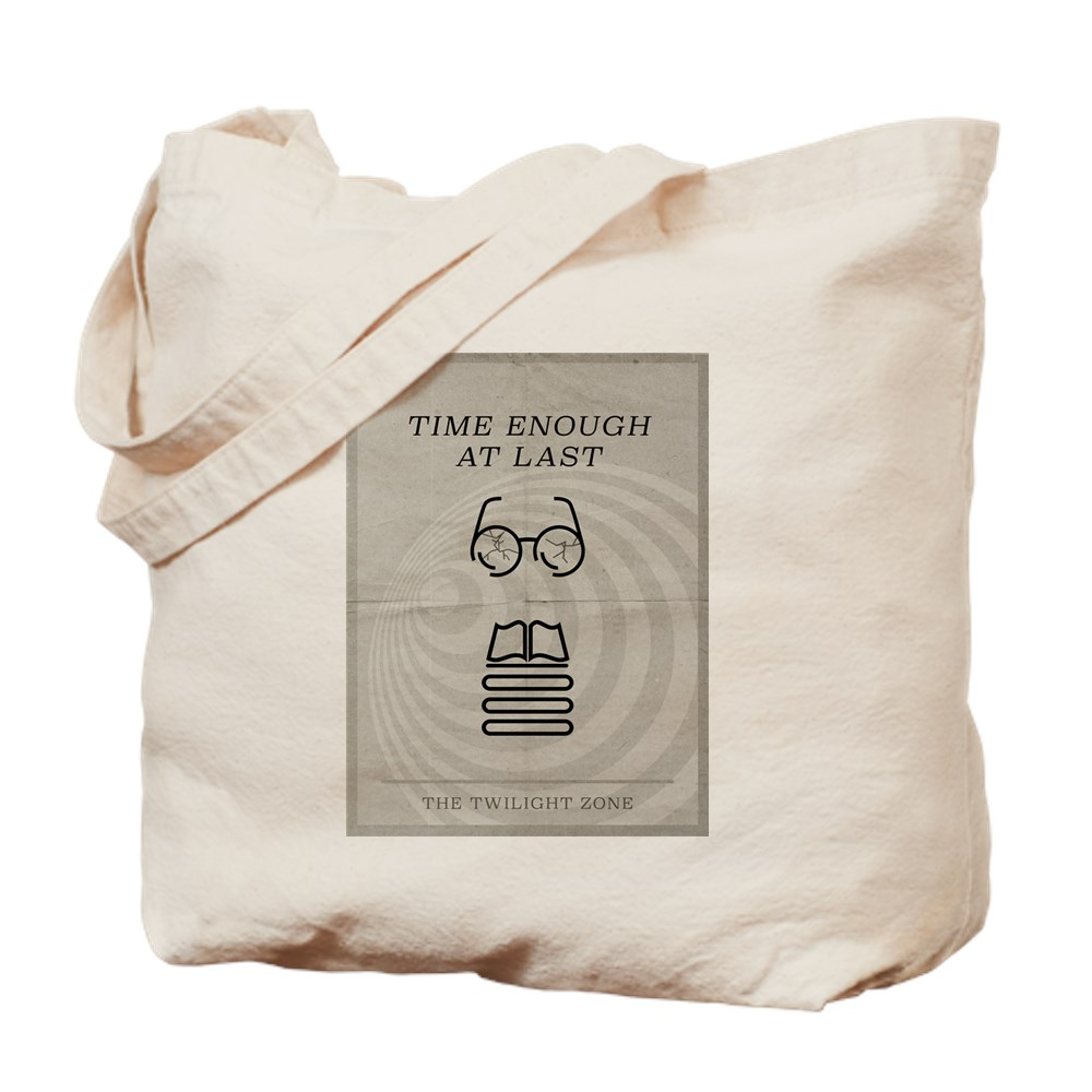 Time Enough at Last Minimal Poster Tote Bag