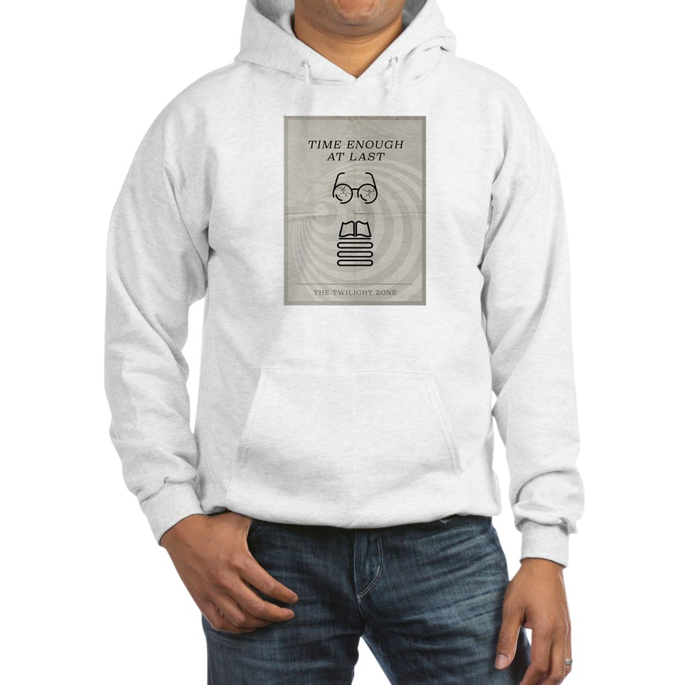 Time Enough at Last Minimal Poster Hooded Sweatshirt