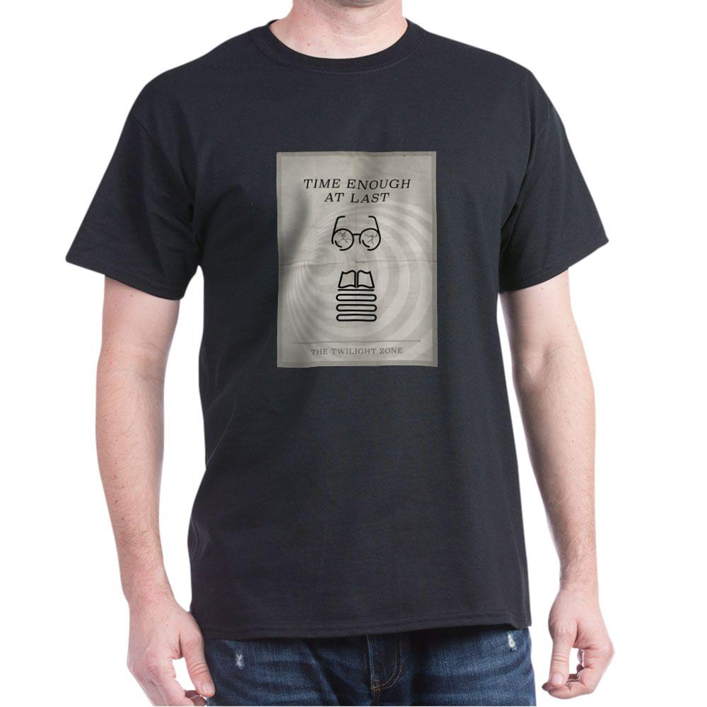 Time Enough at Last Minimal Poster Dark T-Shirt