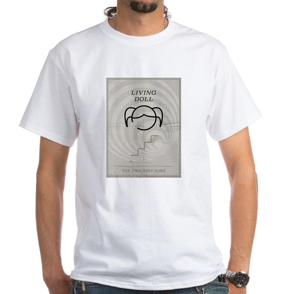 Living Doll Minimal Poster White T-Shirt