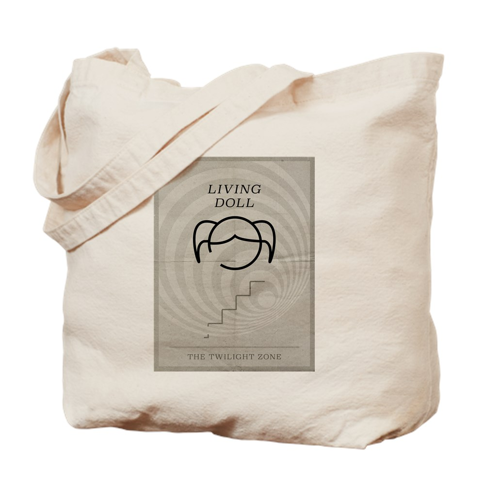Living Doll Minimal Poster Tote Bag
