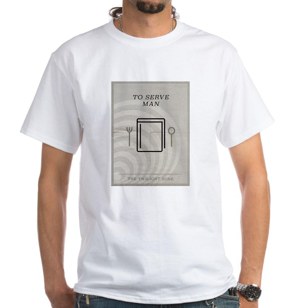 To Serve Man Minimal Poster White T-Shirt