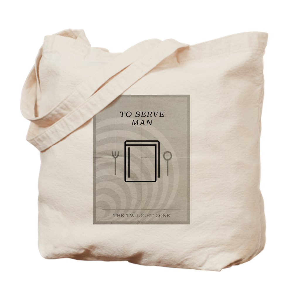 To Serve Man Minimal Poster Tote Bag