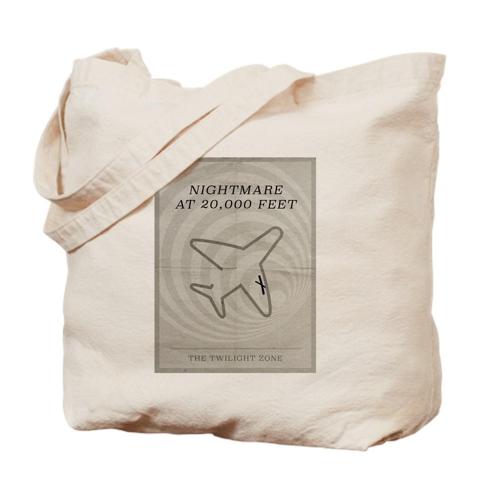 Nightmare at 20,000 Feet Minimal Poster Tote Bag