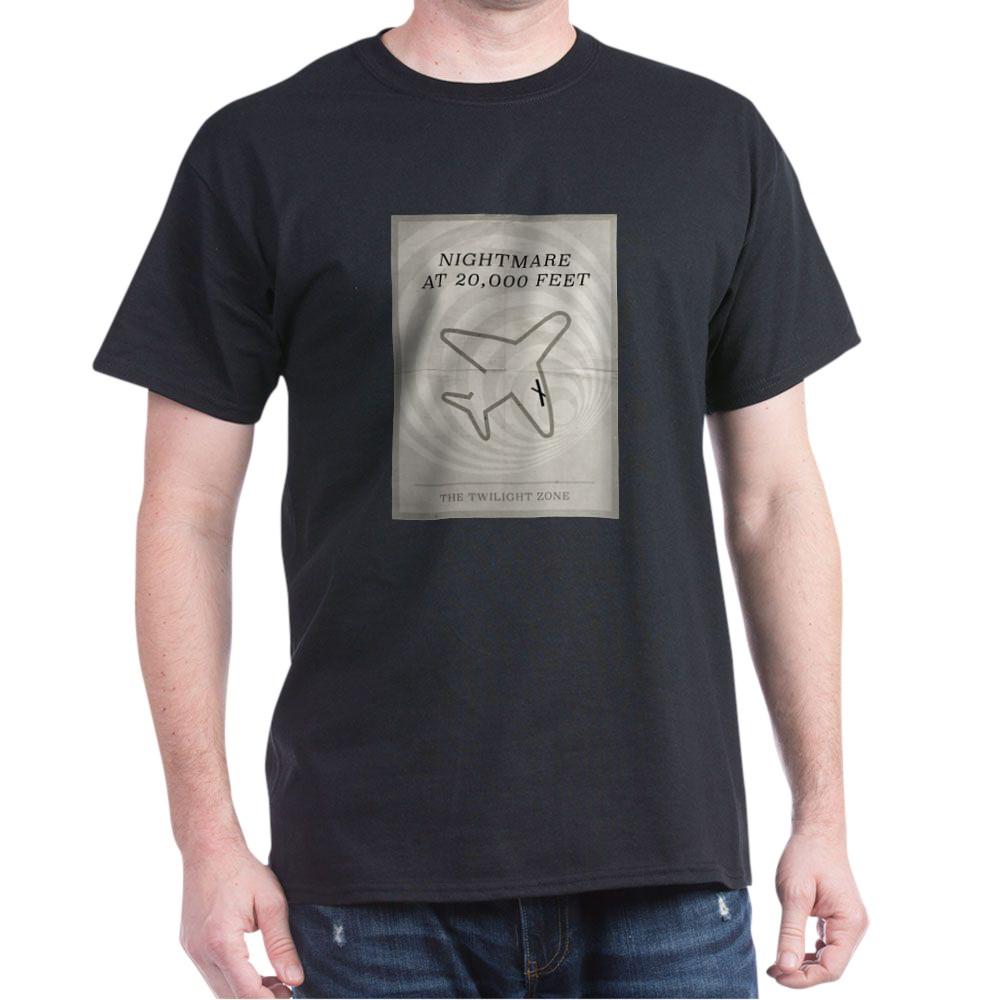 Nightmare at 20,000 Feet Minimal Poster Dark T-Shirt
