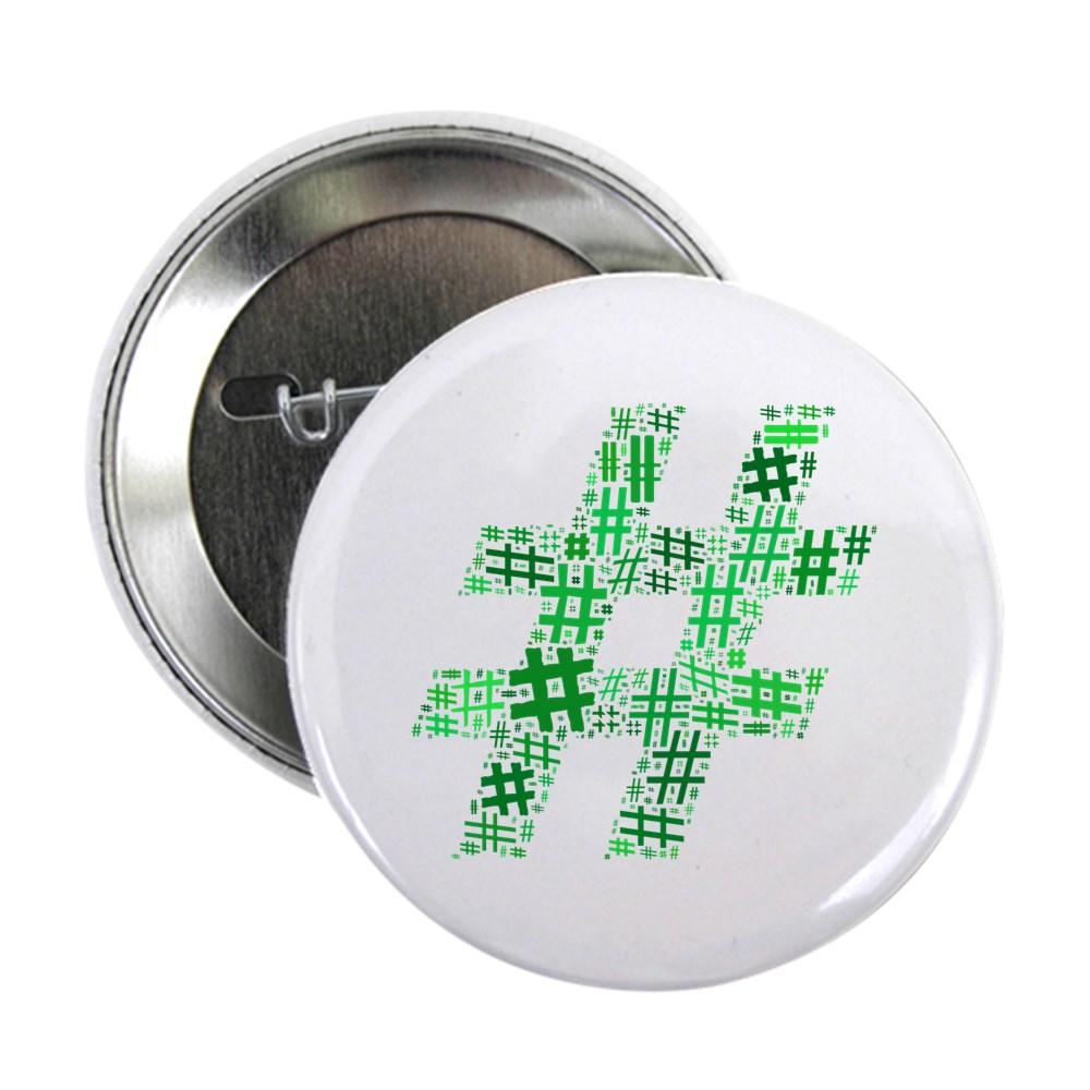 Green Hashtag Cloud 2.25