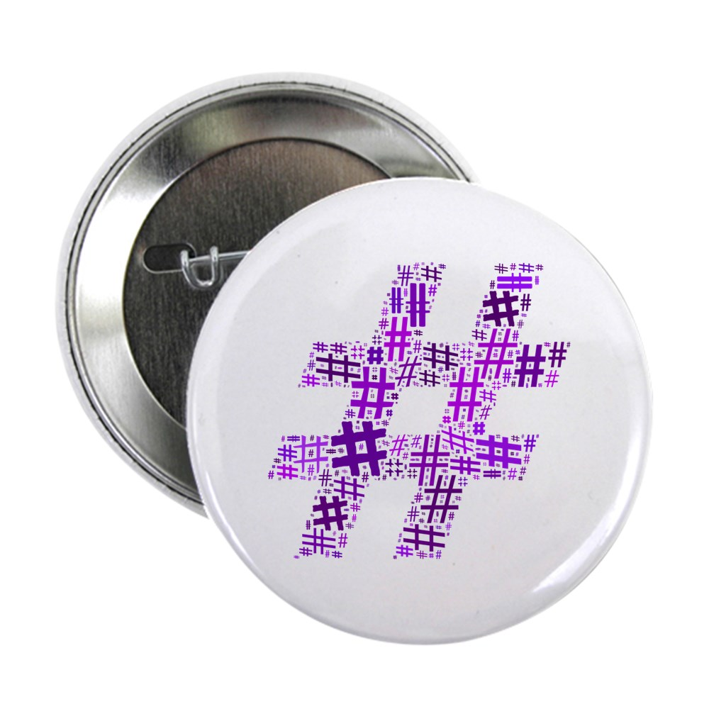 Purple Hashtag Cloud 2.25