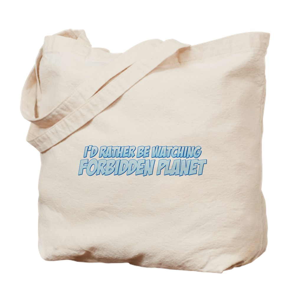 I'd Rather Be Watching Forbidden Planet Tote Bag