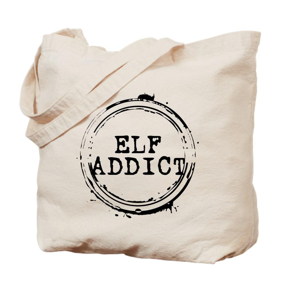 Elf Addict Stamp Tote Bag