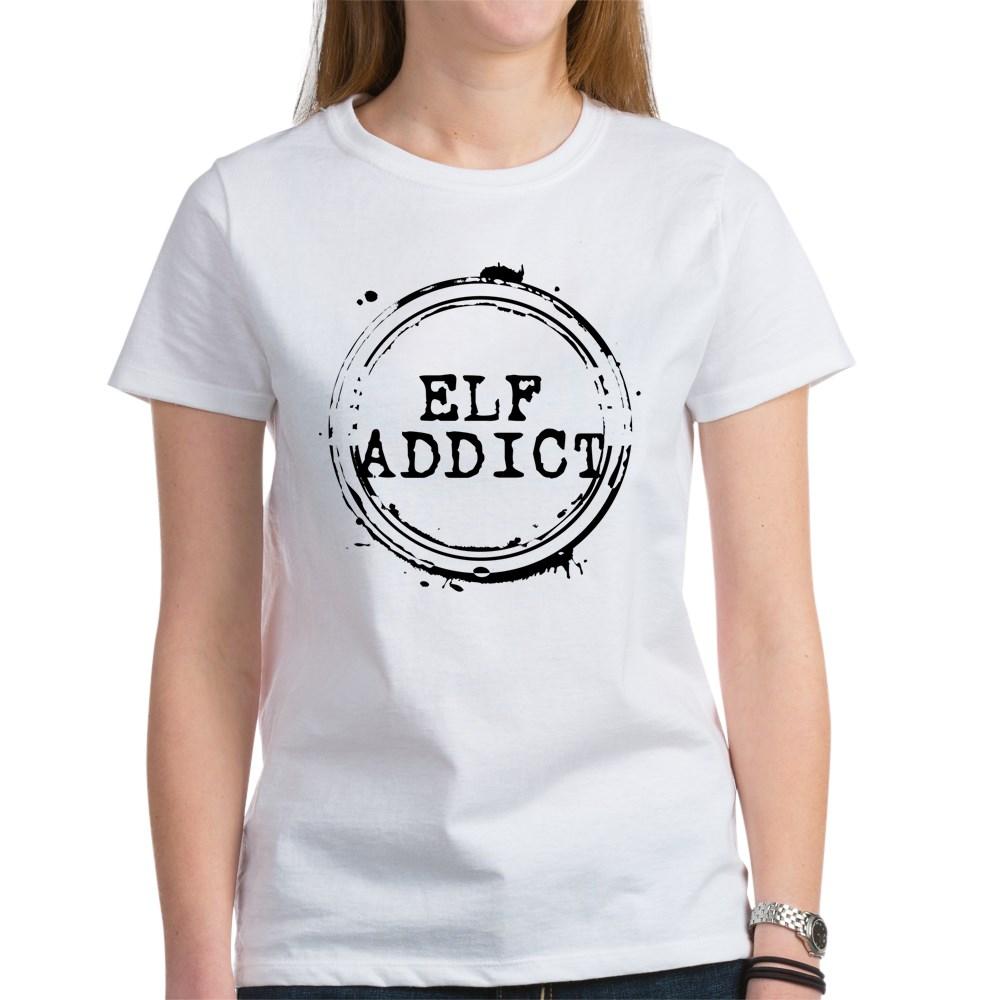 Elf Addict Stamp Women's T-Shirt